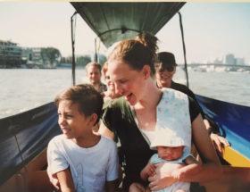 Blog boat family