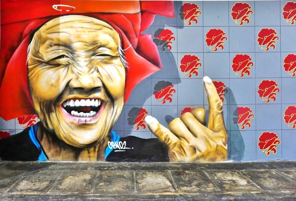 singapore mural